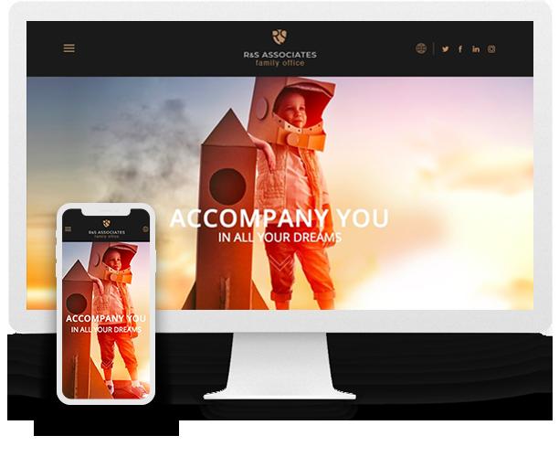 Digital Space - RS Associates Website